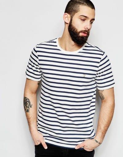 Camiseta de rayas Farah