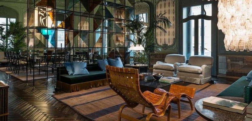 Suites privadas de Fendi