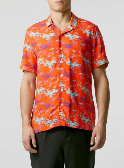 Camisa hawaiana de Topman