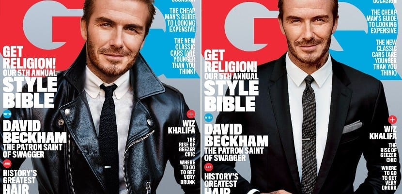 Portada doble de David Beckham en GQ