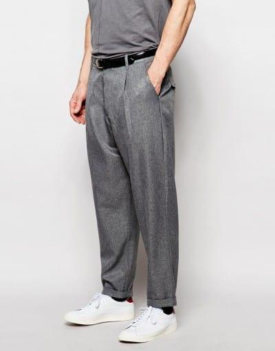 Pantalón de vestir holgado