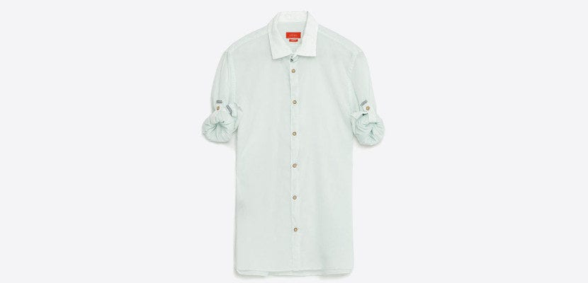Camisa vaporosa masculina