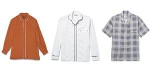 Camisas pijameras de hombre