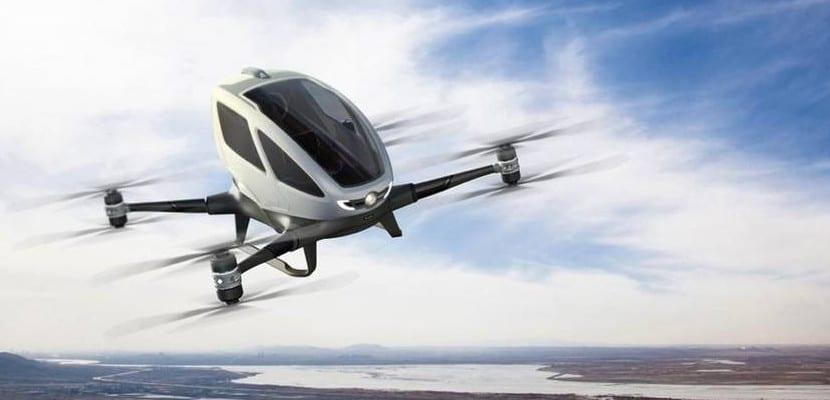 Dron para pasajeros
