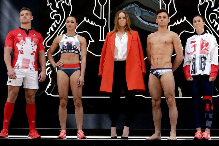 Equipación de Reino Unido para Rio 2016