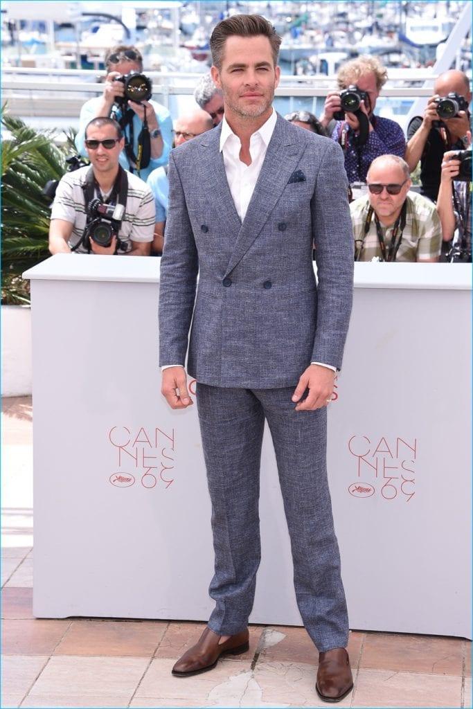 Chris-Pine-Cannes Giorgio Armani