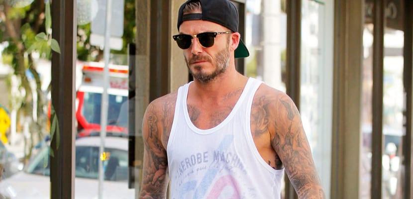 Beckham con look veraniego