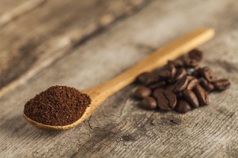 cafe exfoliación