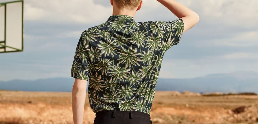 Camisa hawaiana de Zara