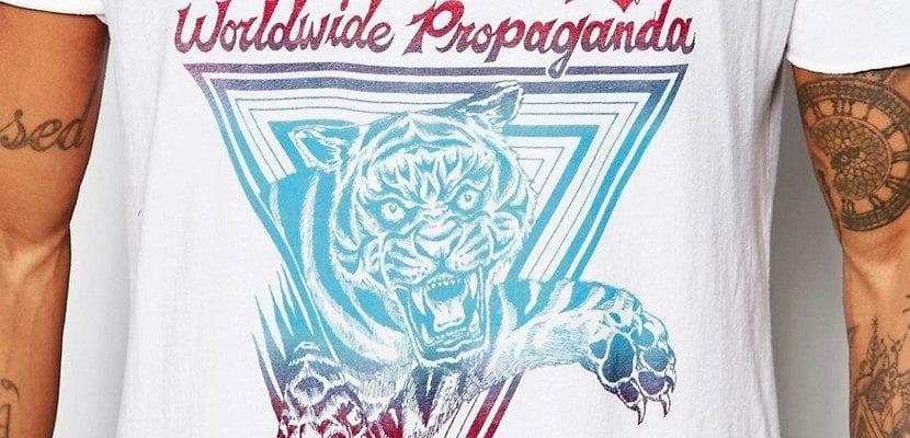 Camiseta con tigre