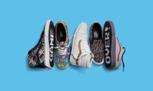 Colección de zapatillas Nintendo x Vans