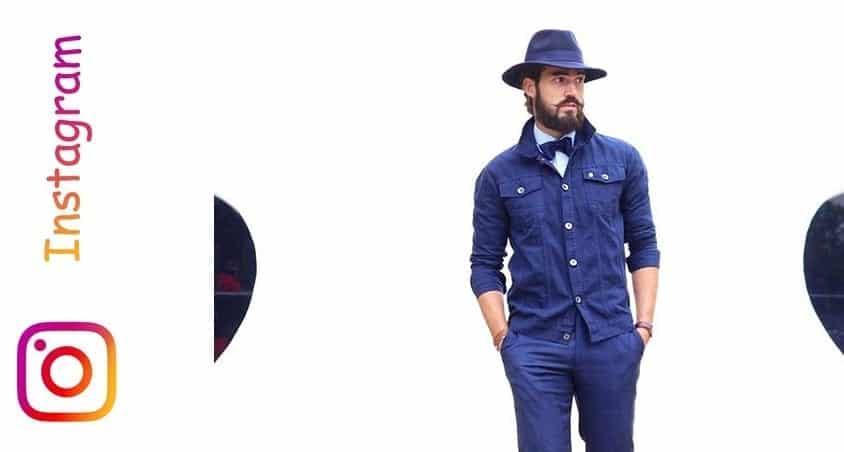 men in hat instagram
