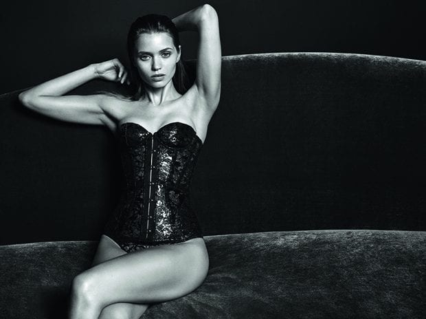 Abbey Lee para Agent Provocateur