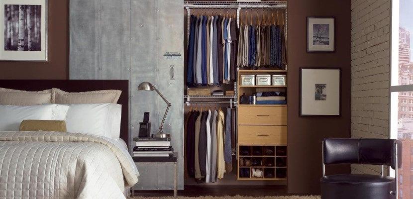 Armario bien organizado