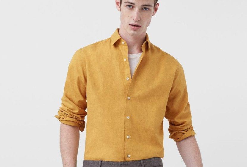 Camisa de otoño de Mango