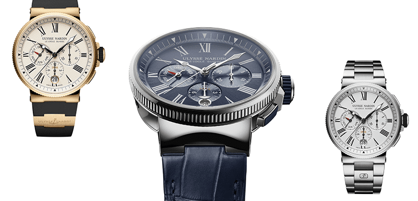 Marine Chronograph Collection relojes de lujo