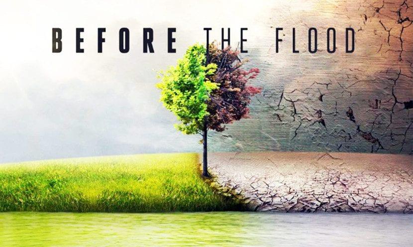Cartel de 'Before the flood'
