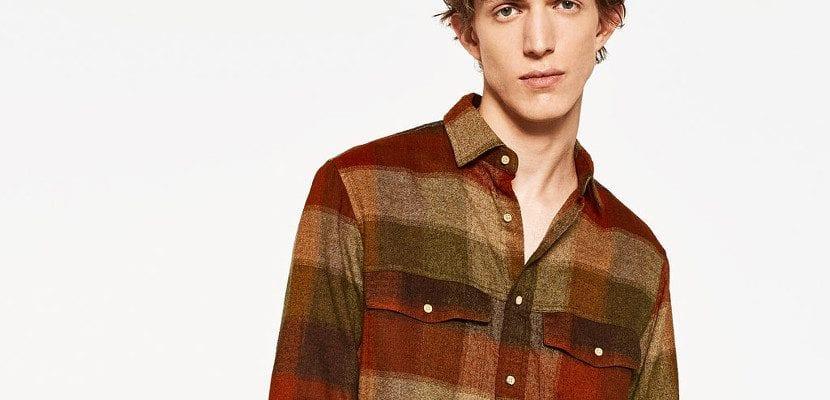 Camisa de cuadros de Zara