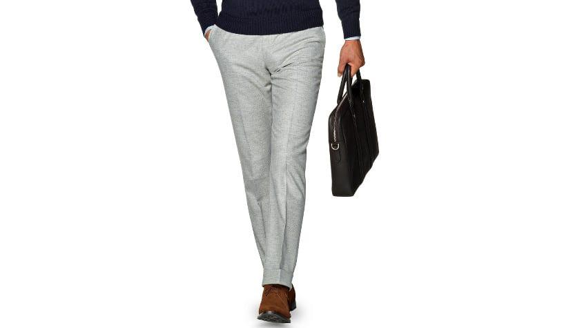 Pantalón gris claro
