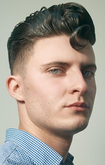 Corte de pelo para cara diamante hombre