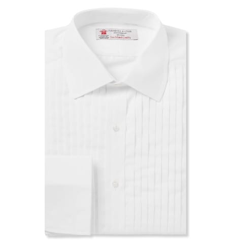 Camisa de esmoquin de Turnbull & Asser