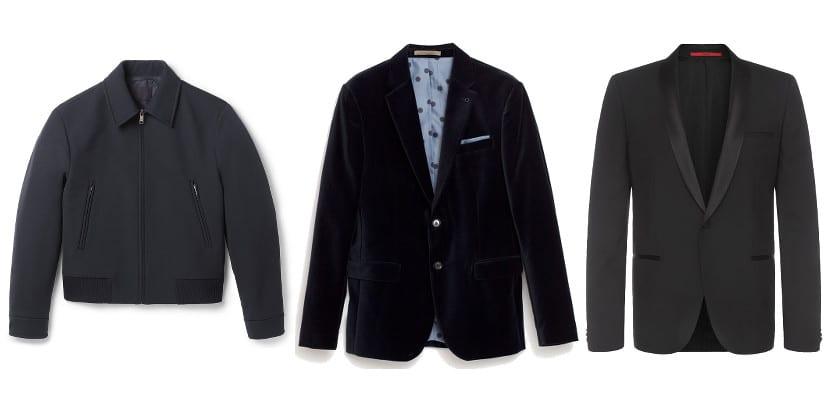 Tipos de chaqueta para una fiesta de empresa