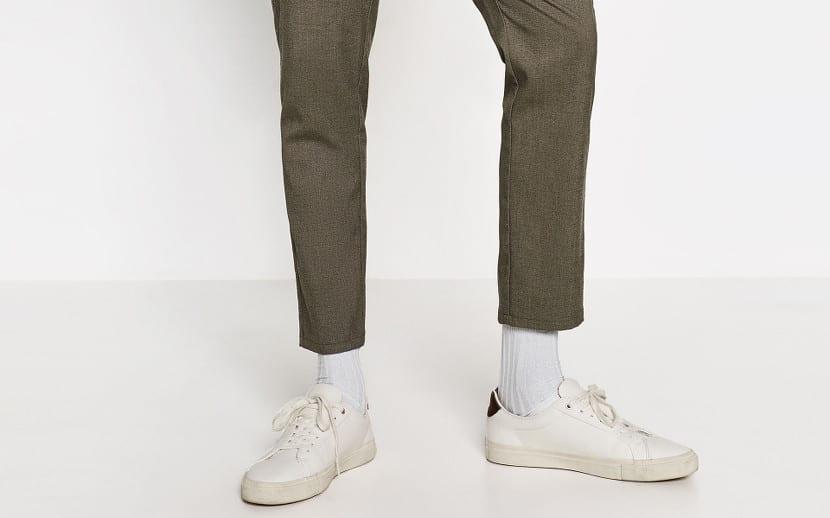 Pantalón cropped
