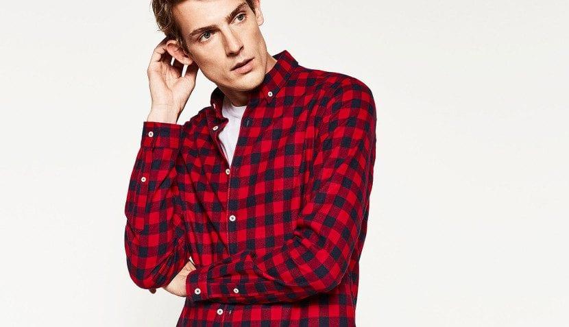 Camisa de franela Zara