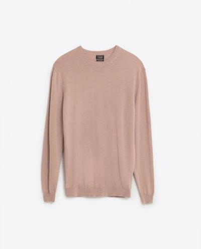 Jersey de cachemir de Zara