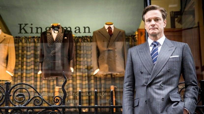 Colin Firth en 'Kingsman'
