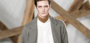 Jersey de cuello alto con camisa