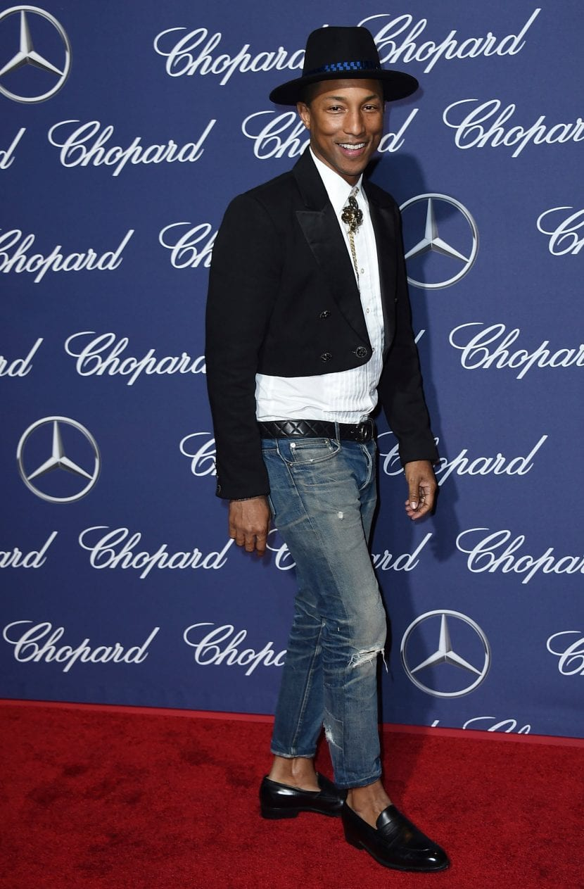 Pharrell Williams en el Festival de Palm Springs
