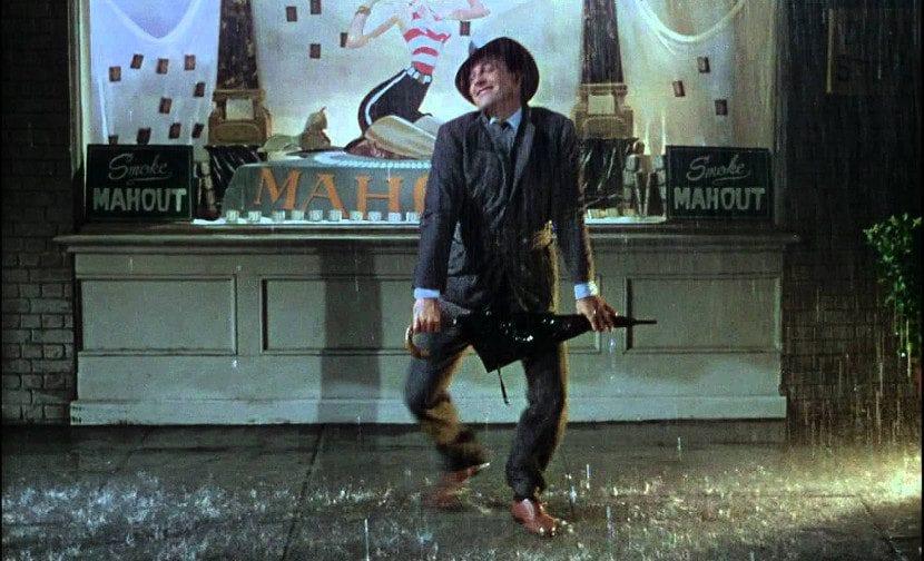 Gene Kelly en 'Cantando bajo la lluvia'