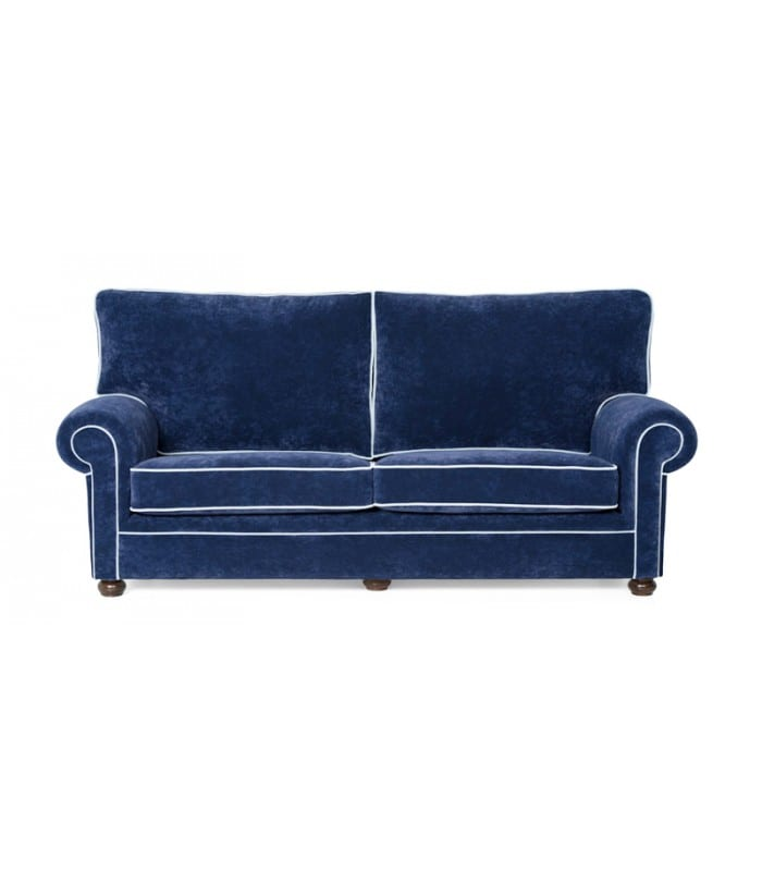 Sofá de tela
