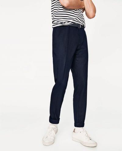 Pantalón cónico de Zara
