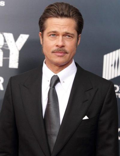 Brad Pitt con peinado pompadour
