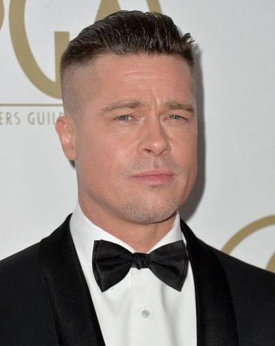 Brad Pitt corte de pelo undercut