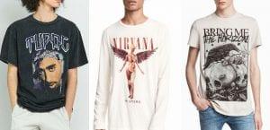 Camisetas musicales