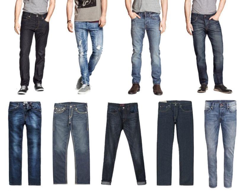 Pantalones Vaqueros Para Hombre Novedades De Esta Primavera Hombres Con Estilo