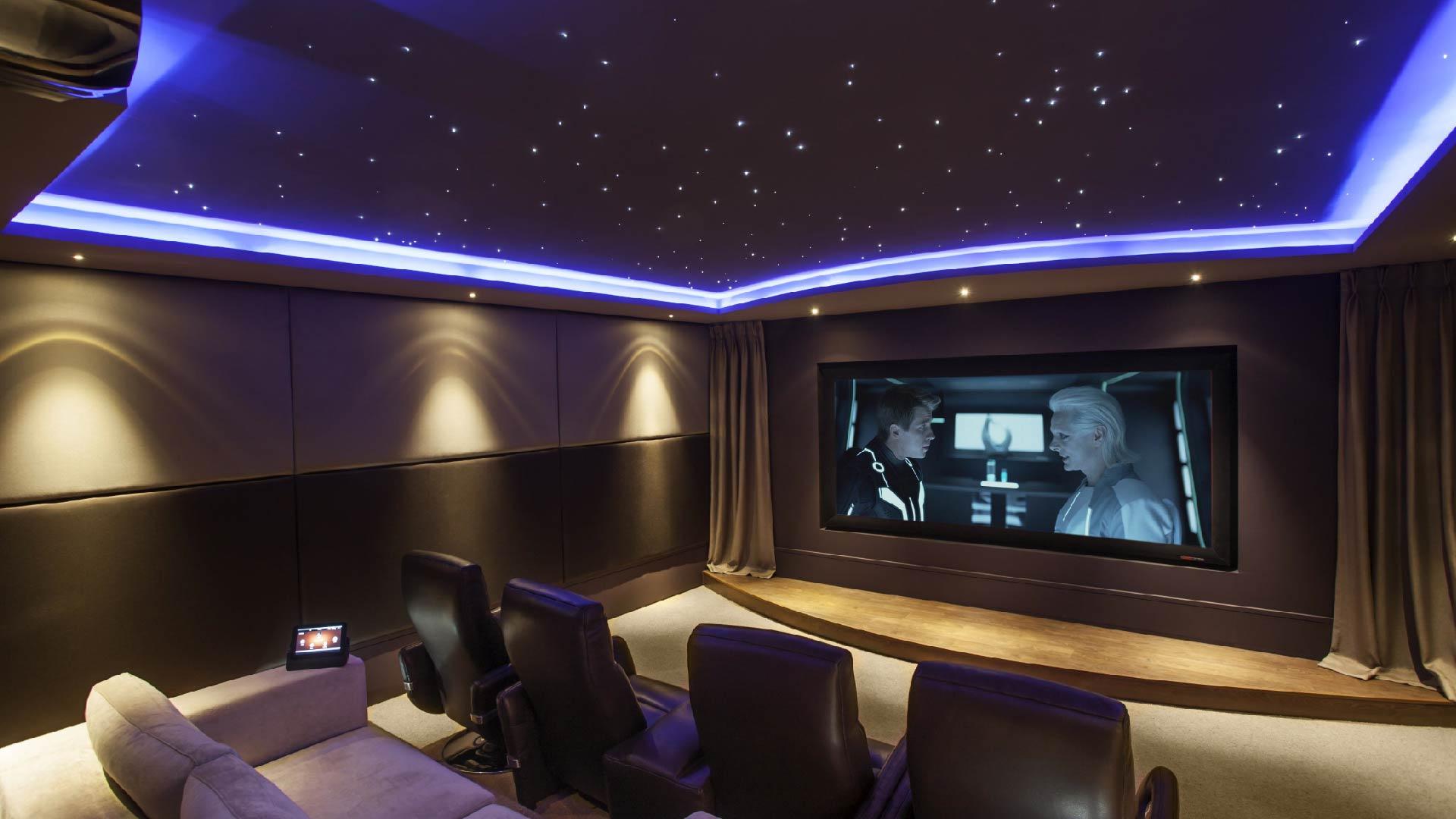 El cine en casa una de las mejores opciones tecnol gicas - Sala de cine en casa ...