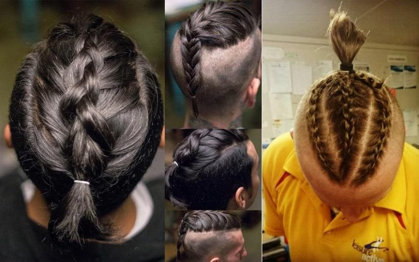 Un Peinado Para Hombre Que No Pasa De Moda Las Trenzas Hombres Con Estilo