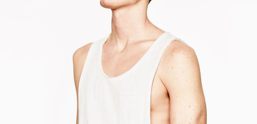 Camiseta de manga sisa