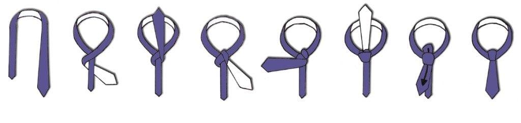 nudo de la corbata