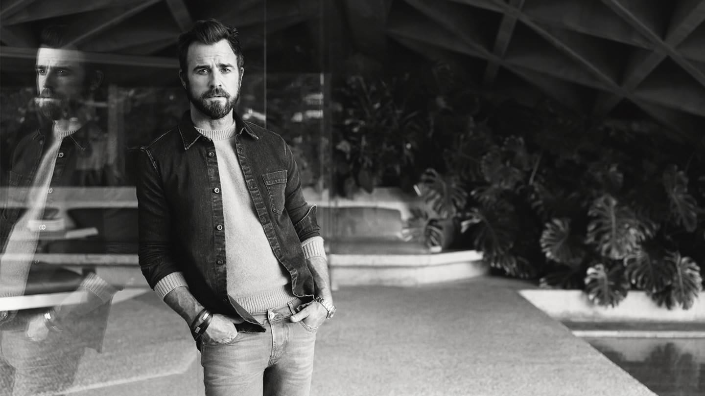 justin theroux en la nueva editorial de mr porter