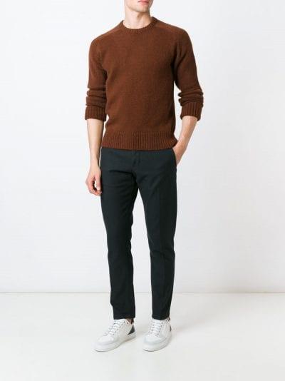 Jersey de punto con pantalón de vestir