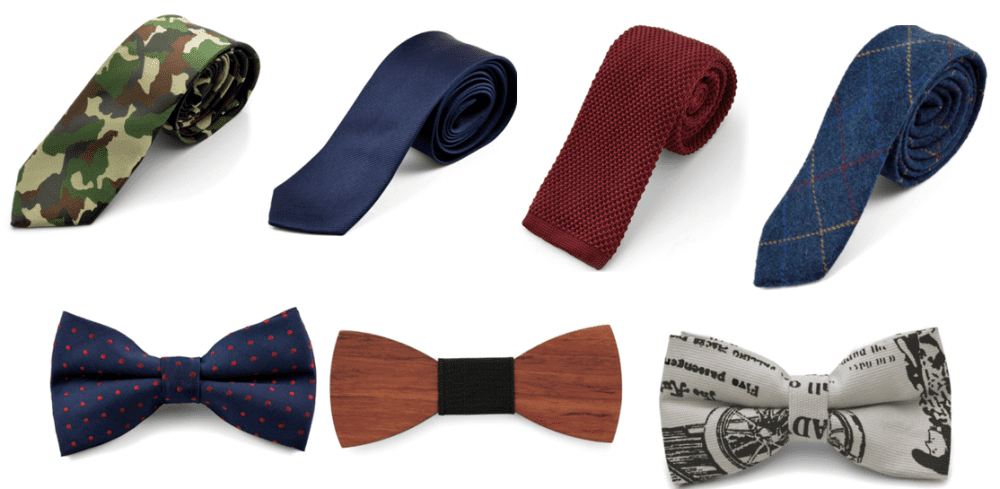 corbatas y pajaritas