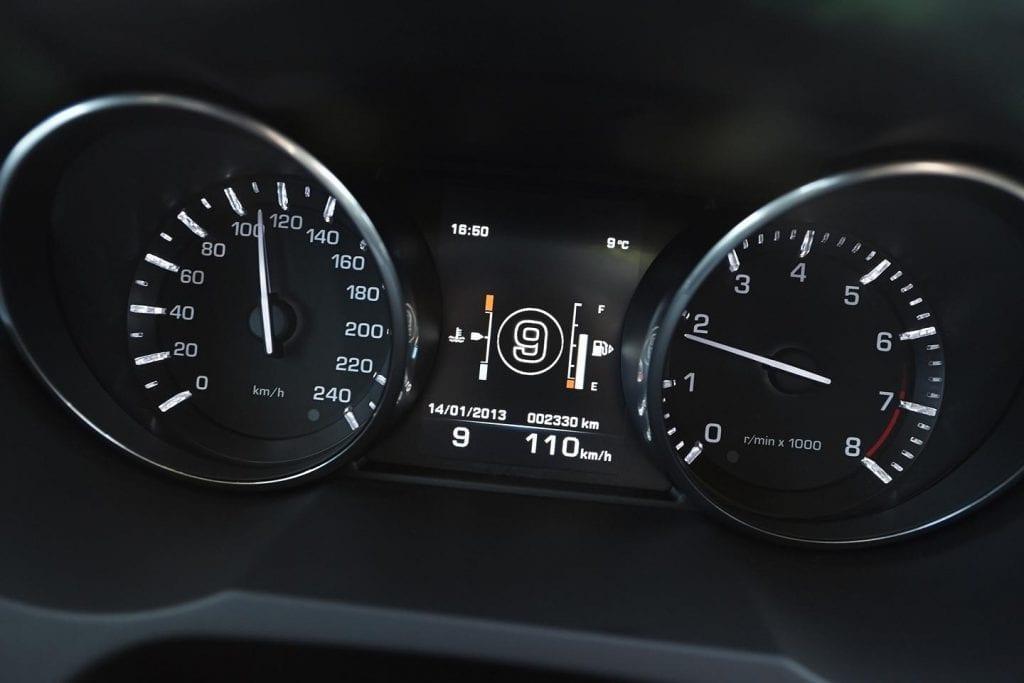 cuadro mandos coche