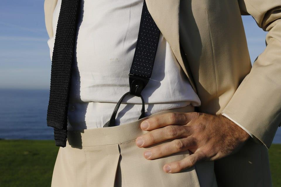tirantes o cinturón