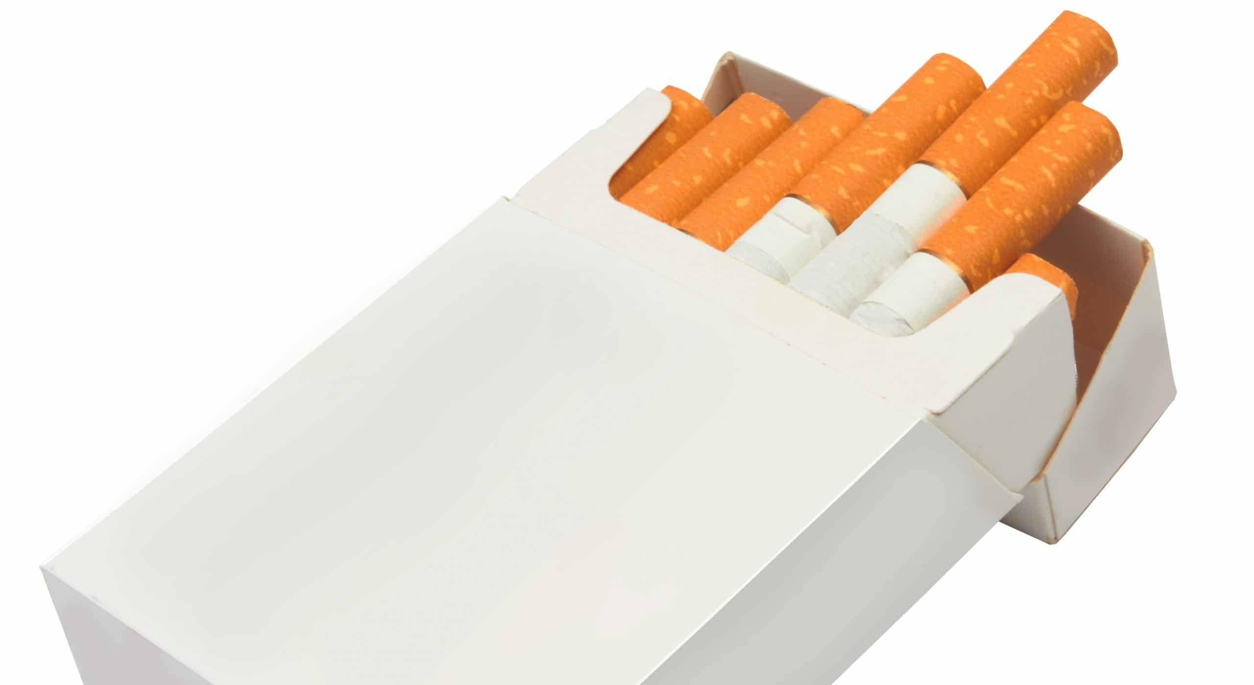 cigarrillo con filtro