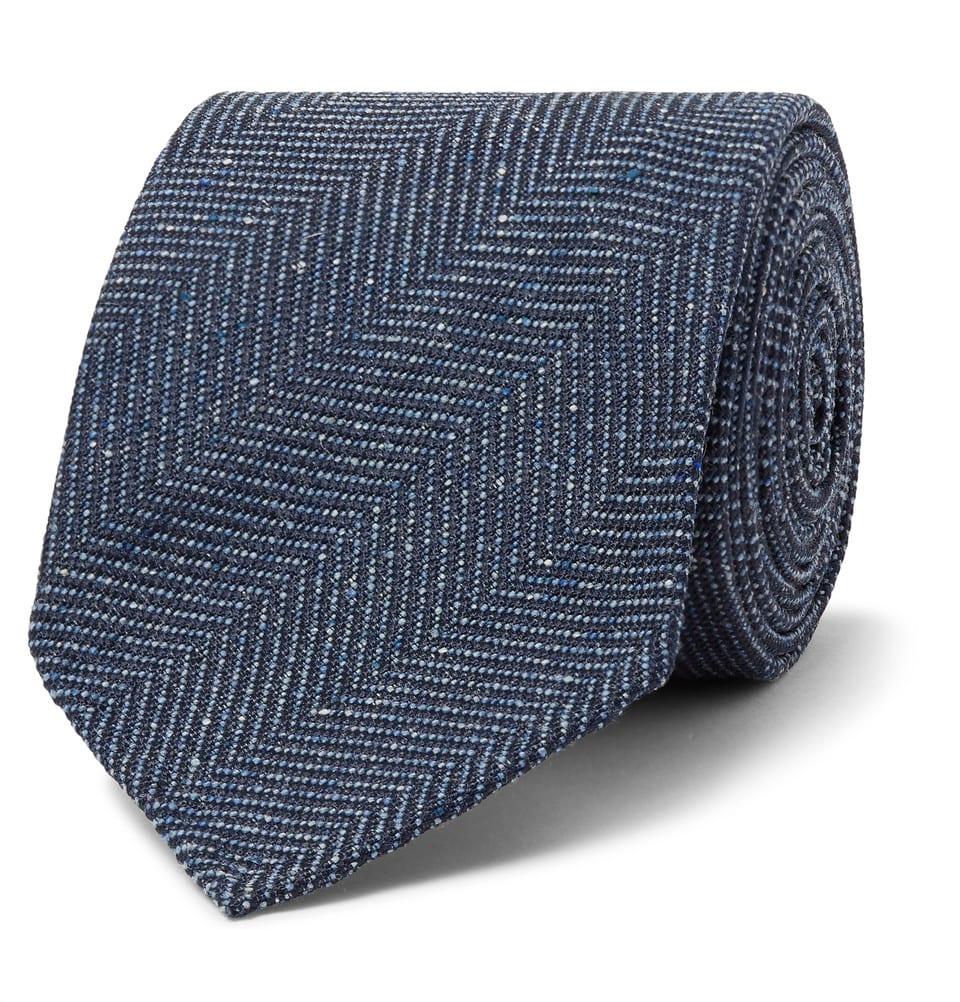 Corbata de espiga